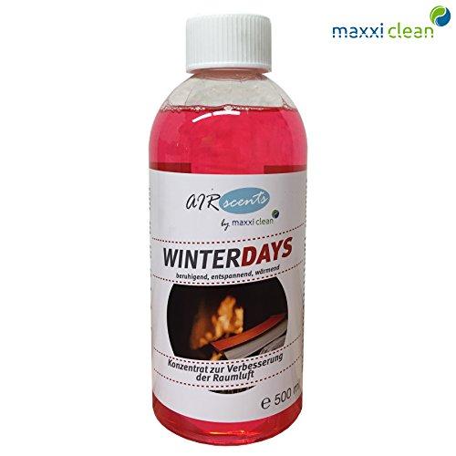 Maxxi Clean Air Scents 500ml (€32/L) - Winterdays - pure Dufkomposition - Raumluftverbesserungskonzentrat