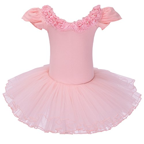 Meeyou Little Girls' Flower Ovelay Ballet Tutu Dress, used for sale  Delivered anywhere in USA