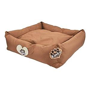 Kimba-Cama-de-Viaje-de-Lujo-y-Lavable-para-Perro-para-Coche-Hogar-Pequeo-50-x-50cm