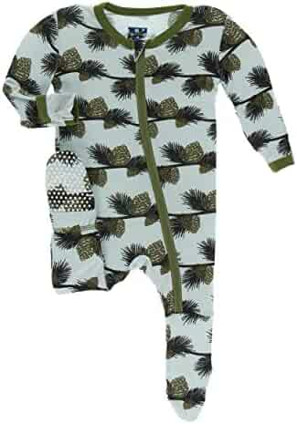 Kislio Newborn Unisex Baby Boys Girls Romper Solid Color Long Sleeve Jumpsuit Clothes
