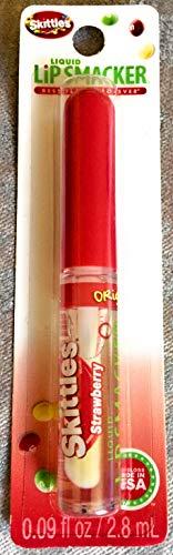 Skittles Liquid Lip Smacker, Fruit Flavored Lip Glss, 0.09 Fl Oz