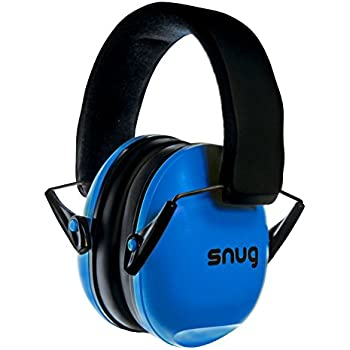 Snug Kids Earmuffs / Best Hearing Protectors – Adjustable Headband Ear Defenders For Children and Adults (Original Blue)