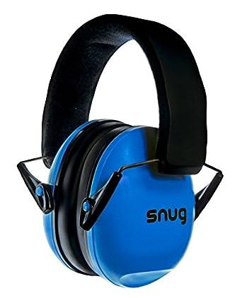 Snug Safe n Sound Orejeras Infantiles Protector Audición Ajustable Adultos Niño (Azul Royal)