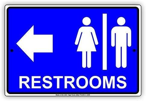 Amazon.com: Restaurantes para mujeres y hombres baño flecha ...