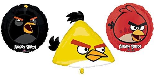 Angry Birds Mylar Balloons Balloon