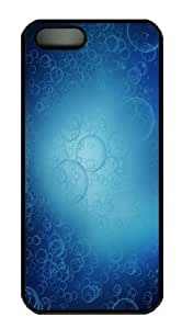 abstract bubbles Polycarbonate Hard Case Cover for iPhone 5/5S Black by runtopwell