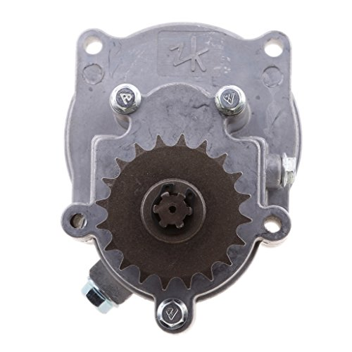 D DOLITY Motorcycle Transmission Gear Box for 49CC 2-Stroke/4-Stroke Engine Mini Pocket Bike