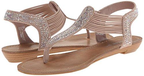 887865299431 - Madden Girl Women's Teager Flip Flop, Blush Fabric, 6 M US carousel main 5