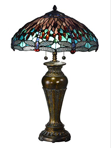 Dale Tiffany Dragonfly Lamp - 8
