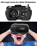 VR Headset Compatible with iPhone & Android
