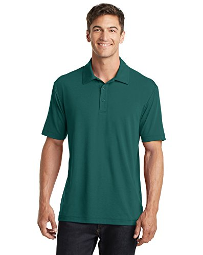 Port Authority Cotton Touch Performance Polo, Lush Green, (Big Rack Outfitters)