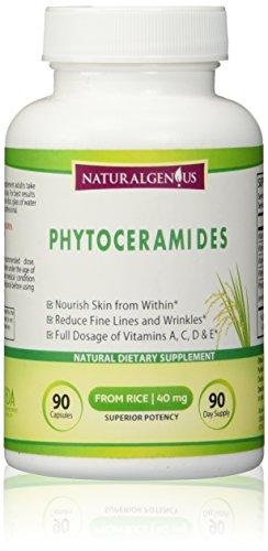 Phytoceramides végétarien - cliniquement prouvé tout naturel + vitamines A C D E-Poussée de collagène, de réduire les lignes & de rides, de réparer les dommages de Sun-Get jeune peau que tous verrez! Œuvres pour femmes & hommes