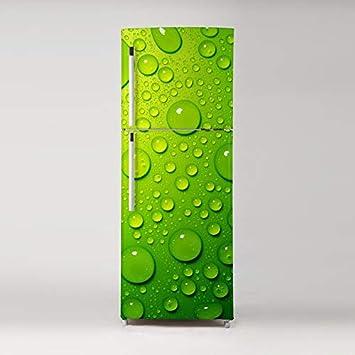 Diy Lavaplatos Refrigerador Congelar Etiqueta Watedrop en verde ...