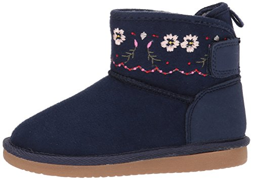 Pictures of Carter's Girls' Tiana Fashion Boot Navy Navy 9 M US Toddler 5