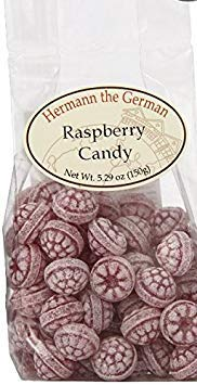 Hermann the German Raspberry Candy (Germany Candy)