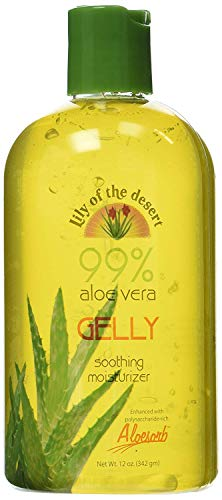 Lily of the Desert Aloe Vera Gelly Bottle, 12 Ounce (Lily Of The Desert Aloe Vera Gel Ingredients)