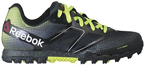 Reebok All Terrain Super Womens Running Shoe 10 Black-Gravel-Solar