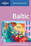 Front cover for the book Baltic States Phrasebook by Eva Aras