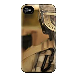 Mialisabblake Snap On Hard Case Cover Future Soldier Protector For Iphone 4/4s