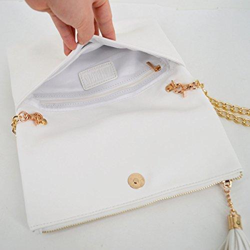 Pochette Blanc femme pour Blanc AiSi pour femme AiSi Pochette pour AiSi Pochette femme nw4THqYq