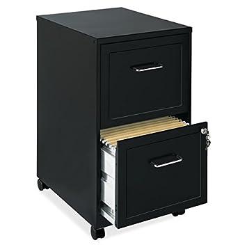 Oficina diseños negro – Funda para archivador, duradero diseño de acero