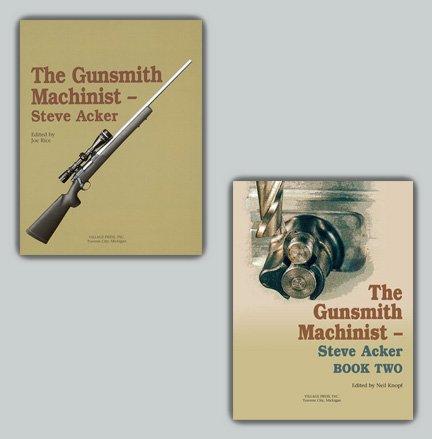 Gunsmith Machinist Set: Books I and II