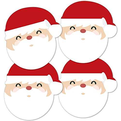Jolly Santa Claus - Christmas Decorations DIY Party Essentials - Set of 20]()