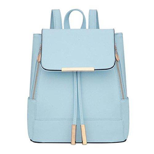 femmes Clair sac Bleu mode sac à Sac d'université backpack 29CM nouveau 24 petit d'été 5 bandoulière XUEYAN 16 dos à filles des AYqwBn