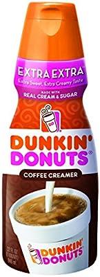 Dunkin' Donuts, Extra Extra Coffee Creamer, 32 oz