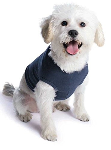 Doggie Skins 100% Combed Ringspun Cotton 1x1 Baby Rib Dog Tank Top