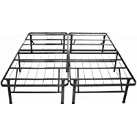 Night Therapy Sleep Revolution Platform Metal Bed Frame/Mattress Foundation, Cal King
