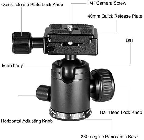 Professional Heavy Duty 72 Monopod//Unipod Dual Optional Head for Fujifilm X70