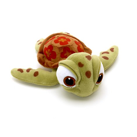 Amazon.com: Finding Nemo Squirt the Turtle Bean Bag Plush - Six Inches: Toys & Games