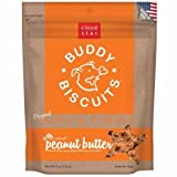 Cloud Star Soft & Chewy Buddy Biscuits Peanut Butter Flavor Dog Treats, 6 ounce