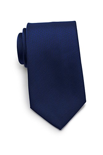 Texture Bow - Bows-N-Ties Men's Necktie Solid Micro-Texture Microfiber Matte Tie 3.1 Inches (Menswear Navy)