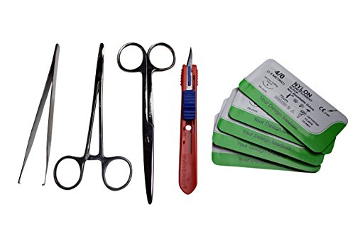 suturing-instrument-kit-scalpel-mayo-suture-holder-driver-forceps-pickups-scissors-5-nylon-sutures