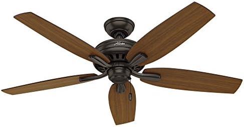 Hunter Fan Company 53323 Ceiling Fan, 52 , Premier Bronze