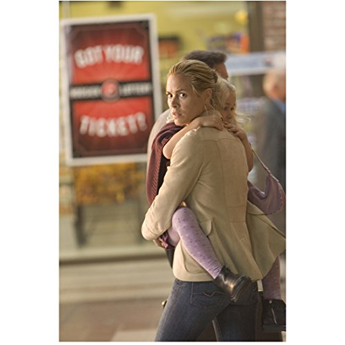 (A History of Violence Maria Bello as Edie Holding Heidi Hayes as Sarah in Purple Tights 8 x 10 inch photo )