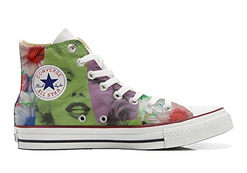 Converse All Star Customized - Zapatos Personalizados (Producto Artesano) Viso Marylin