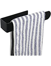 TocTen Hand Towel Bar/Towel Ring, No Drilling Stick on Wall Hand Towel Holder, SUS 304 Stainless Steel Hand Towel Rod, Strong Self Adhesive Hand Towel Hanger/Rack for Bathroom Kitchen