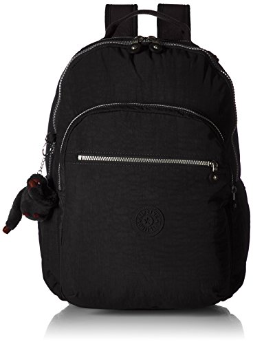 Kipling Seoul Go Black Laptop Backpack,