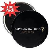 CafePress - Kappa Alpha Theta Leading - 2.25'' Magnet (100 pack)