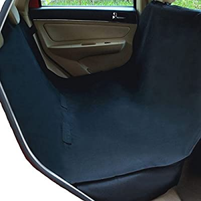 NAC&ZAC Waterproof Hammock Pet Car Seat Cover, Non-slip, Extra Side Flaps, Machine Washable