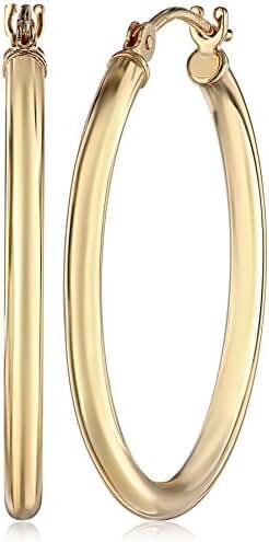 14k Gold Hoop Earrings, 1