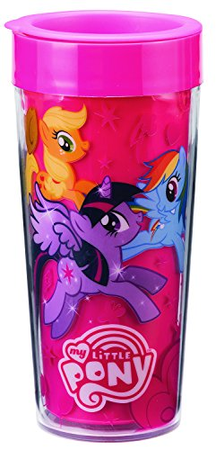 Pony Mug (My Little Pony Magic Friends 16 Oz. Travel Mug 42052)