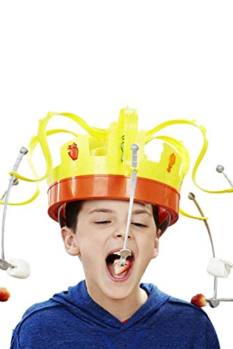 MAILE Family Game Hat Funny Tricky Party Crown Type Toys Electronic Spinning Crown Snacks Food Game for Kids Adults by MAILE (Image #4)
