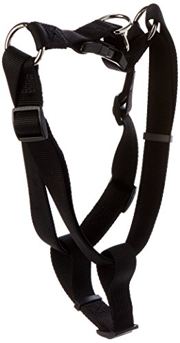 "Petmate Nylon Step-In Dog Harness 1""X23-39"" Black"