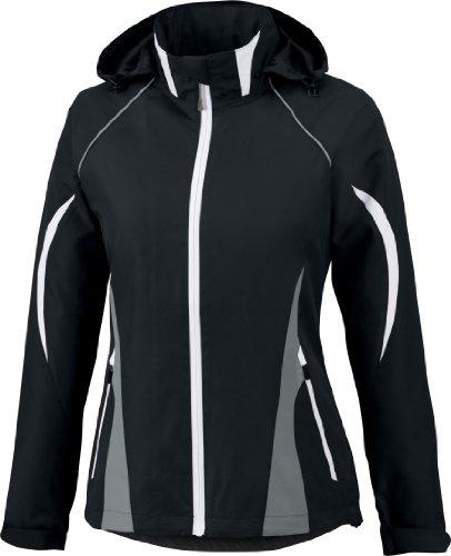 Ladies North End - North End Womens Impact Active Lite Color-Block Jacket (78644) -BLACK 703 -L
