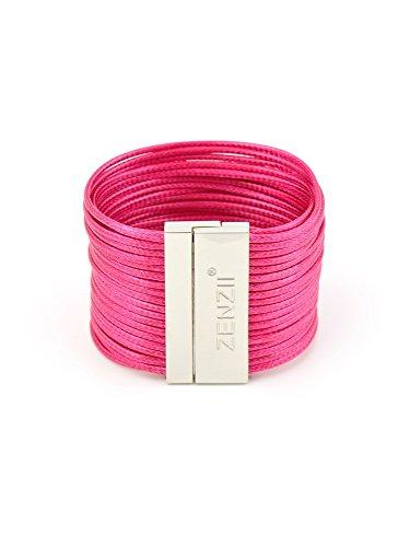 ZENZII Tight Rope Bracelet (Hot Pink)