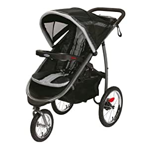2014 Graco FastAction Fold Jogger Click Connect Stroller, Gotham